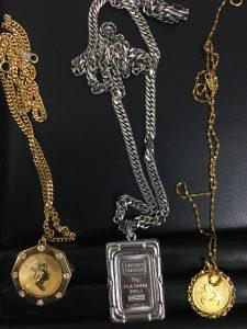 金、プラチナのネックレスを買取いたしました、大吉浦和店にお任せください