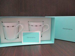 小倉南区下曽根、大吉サニーサイドモール小倉店 ティファニー(Tiffany)のカップをお買取り致しました!