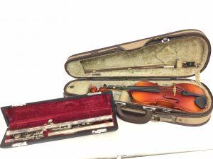 バイオリン フルート 楽器お買取りしました。岡山県大吉ゆめタウン倉敷店
