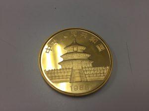 純金コイン買取ました。大吉四街道店です。