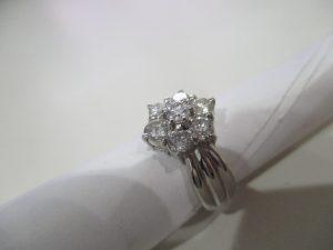 ダイヤモンドのリングをお買取りいたしました!!大吉松江店