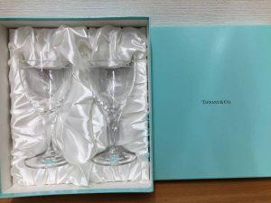 ティファニーのワイングラスを買取させて頂いた大吉羽曳野店です!