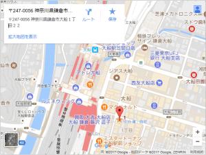 大船店地図