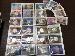 記念貨幣 硬貨 地方自治法施行60周年記念 500円銀貨幣 買取 小倉南区 サニーサイドモール小倉 大吉