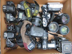 沢山のカメラのお買取りをさせて頂きました。