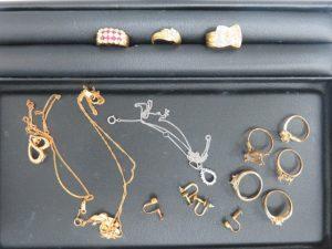 貴金属のリング・ネックレスをお買取りさせて頂きました。