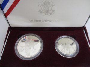 オリンピック記念銀貨