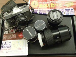 レトロなカメラ・レンズ買取りました。 姶良市の大吉タイヨー西加治木店にて