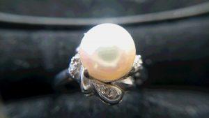 真珠の指輪をお買取りしました!買取専門店 大吉 イオンタウン仙台泉大沢店です。