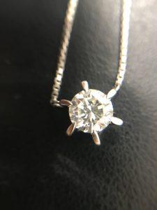 ダイヤネックレスを買取いたしました、大吉浦和店にお任せください