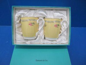 京都、奈良にあるティファニーのペアマグカップの買取はガーデンモール木津川店へ