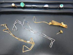貴金属 金 プラチナ ネックレスをお買取りさせて頂きました。