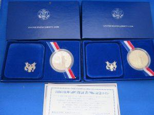 アメリカリバティ銀貨をお買取りさせて頂きました。