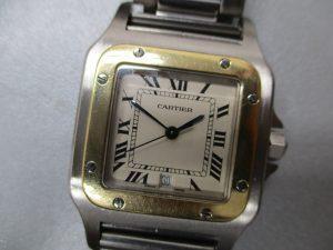 大吉アピタ富士吉原店、カルティエの時計を買取りしました!