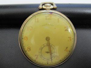 京都、奈良でハミルトンの懐中時計の高価買取は大吉ガーデンモール木津川店へ