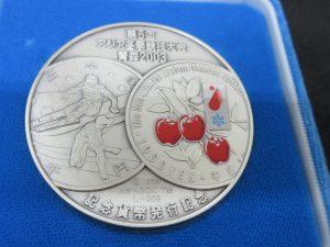 純銀,純金,EXPO,オリンピック,記念メダル,シルバーメダル,松本微章,SV1000,コレクション