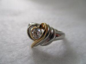 ダイヤモンドのリングをお買取りいたしました♪大吉松江店