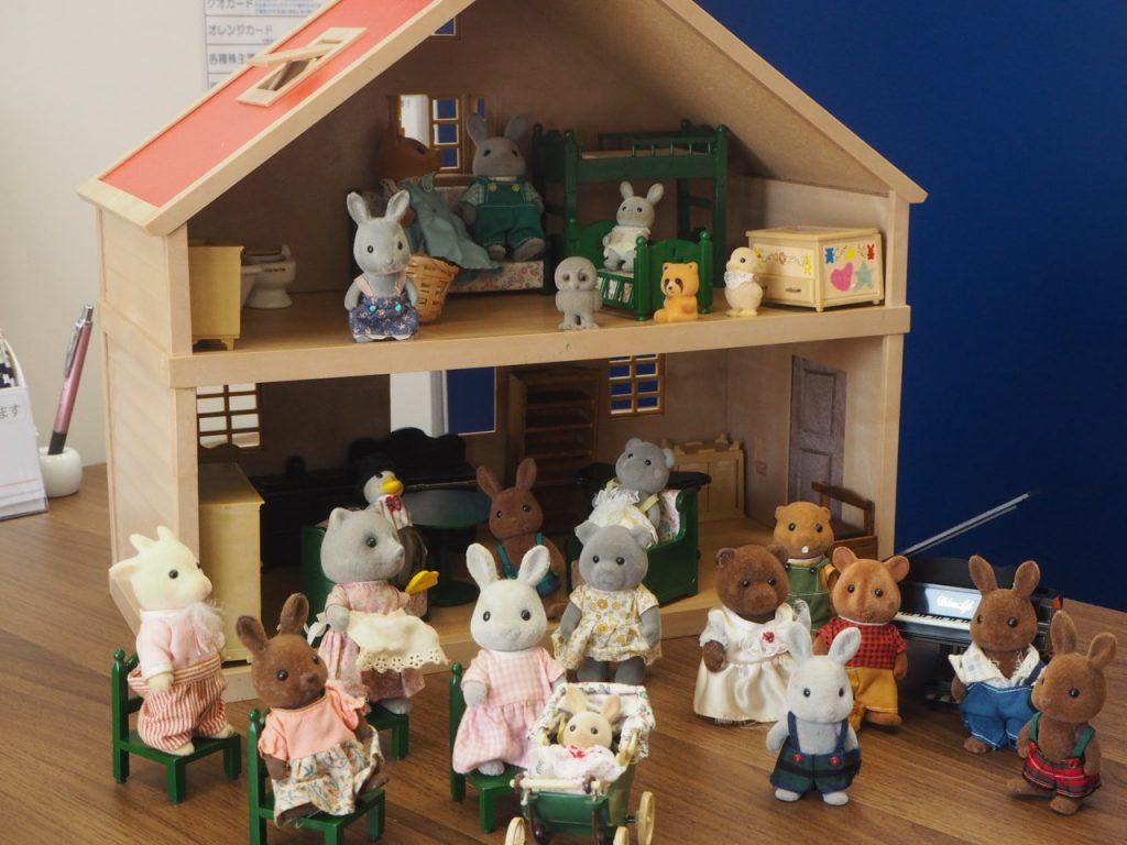 浜松市 湖西市 買取 おもちゃ フィギュア シルバニアファミリー