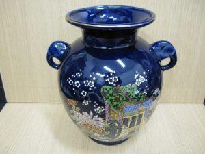京都、奈良で九谷焼の花瓶の高価買取は大吉ガーデンモール木津川店へ