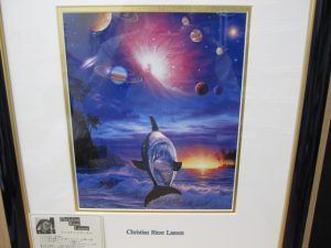 京都、奈良でクリスチャンラッセンの額入りポスターの高価買取は大吉ガーデンモール木津川店へ