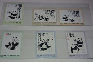 中国切手 オオパンダ 革14 バラ シート 買取 買い取り 福岡県 北九州市 小倉南区 下曽根