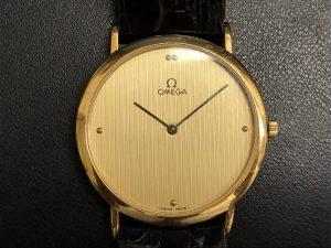 オメガの時計お買取致しました。我孫子市の大吉あびこショッピングプラザ店です!