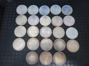東京オリンピック記念1000円銀貨をお買取りさせて頂きました。