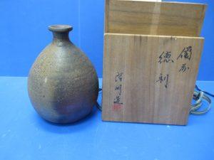 京都、奈良での備前焼 一陽壺 徳利の高価買取は大吉ガーデンモール木津川店へ