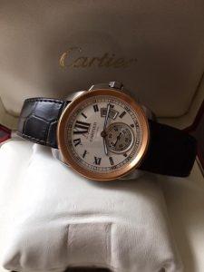 カルティエの時計高価買取しております、大吉松山久万ノ台店です。