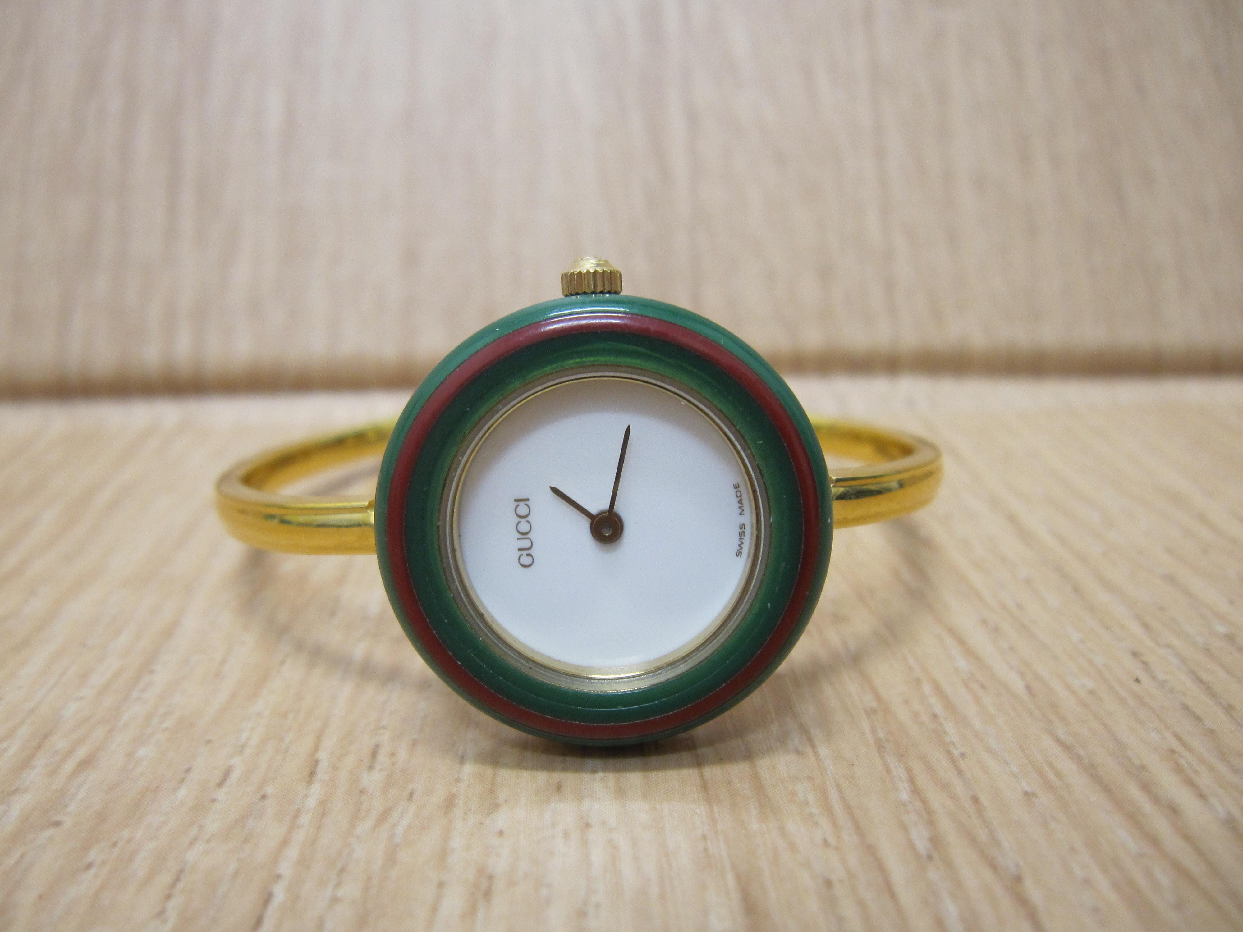 京都、奈良でのGUCCIのチェンジベゼルの時計の高価買取は大吉ガーデンモール木津川店へ