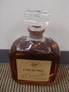 ウイスキーのKARUIZAWA(軽井沢)のお買取は姶良市の買取専門店大吉タイヨー西加治木店におまかせください!
