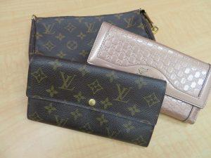 LV ヴィトン グッチ ブランド財布をお買取りさせて頂きました。