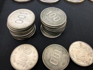 100円の銀貨をお買取致しました!銀貨を売るなら買取専門店大吉 茨木店へ!