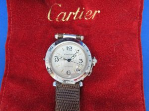 カルティエの時計をお買取りさせて頂きました。