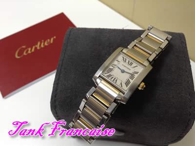Cartier(カルティエ)タンクフランセーズの高価買取なら大吉イズミヤ京都白梅町店へ✨