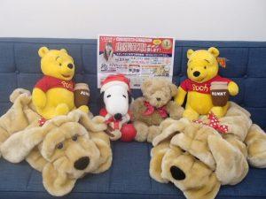 ぬいぐるみ・おもちゃの買取なら姶良市・買取専門店大吉タイヨー西加治木店におまかせください!