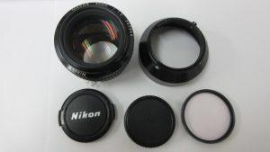 Nikonニコン レンズ 50mm 1:1.2