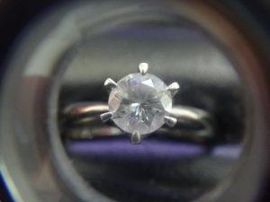 大吉調布店で買取した、ダイヤモンド リング