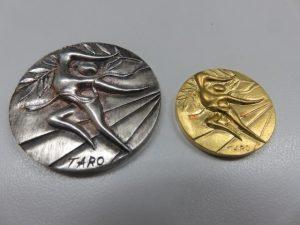 岡元太郎 金メダル