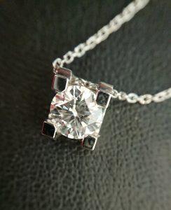 もちろんダイヤのネックレスも高価買取中!買取専門店大吉 イオン宇品店です!
