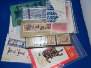 中国切手のレアーな切手をお買取りさせて頂きました。