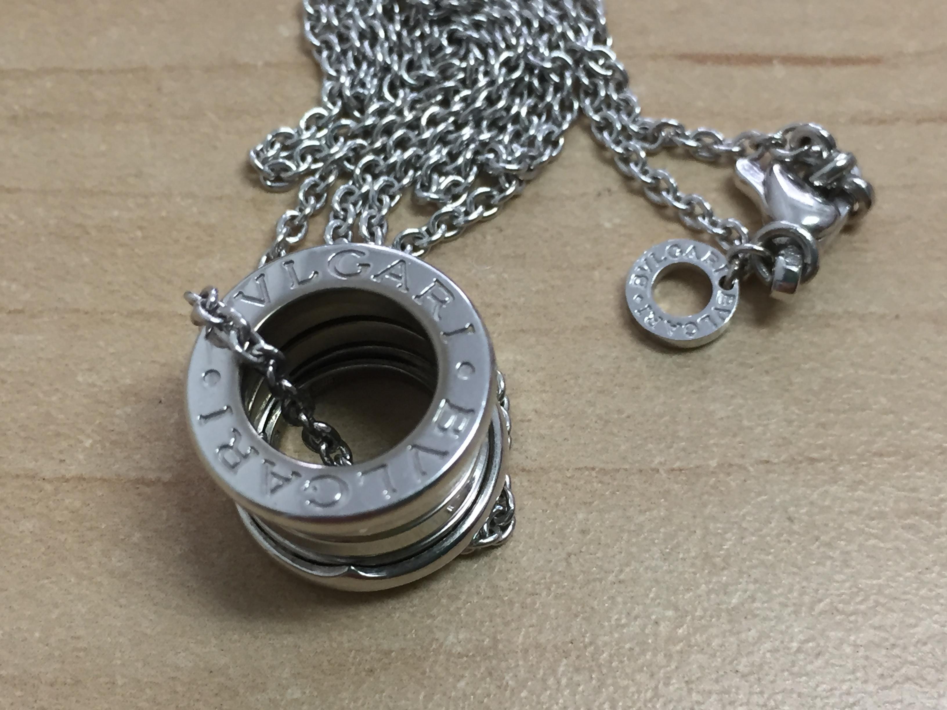d6849d7bd819 BVLGARI ブルガリ の ビーゼロワン ネックレス を 買い取りました!
