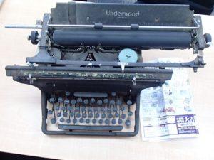 レトロなタイプライターのお買取は霧島市の大吉霧島国分店です。