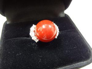 赤珊瑚のリングをお買取り致しました♪大吉ミレニアシティ岩出店です!赤珊瑚のリングをお買取り致しました♪大吉ミレニアシティ岩出店です!