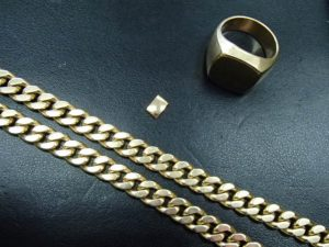 K18(18金)の喜平のネックレスから切れ端のお買取は霧島市の買取専門店大吉霧島国分店におまかせ!