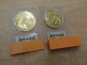 御即位記念10万円金貨をお買取り!大吉ゆめタウン八代店
