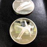 モントリオール 20ドル 銀メダル