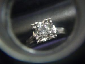 大吉調布店で買取した ダイヤモンド リング