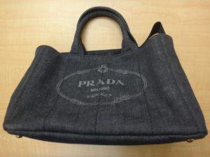 大吉調布店で買取したプラダのブランド バッグ カナパ