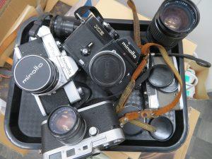 フイルムカメラ・ジャンク品・一眼レフ・カメラレンズなどなど お買取りさせて頂きました。